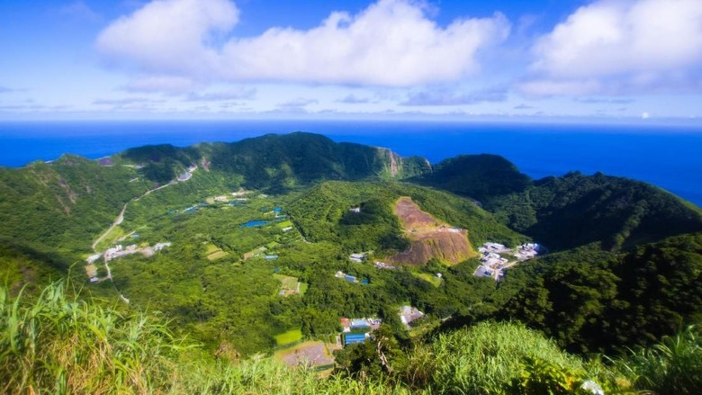 Pulau Aogashima, Jepang (iStock)