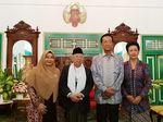 Potret Maruf Amin Disambut Sultan Yogya Bersama Keluarga