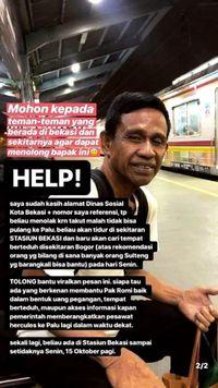Viral Pria di Bekasi Ngaku Korban Gempa Palu, Ini Penelusurannya