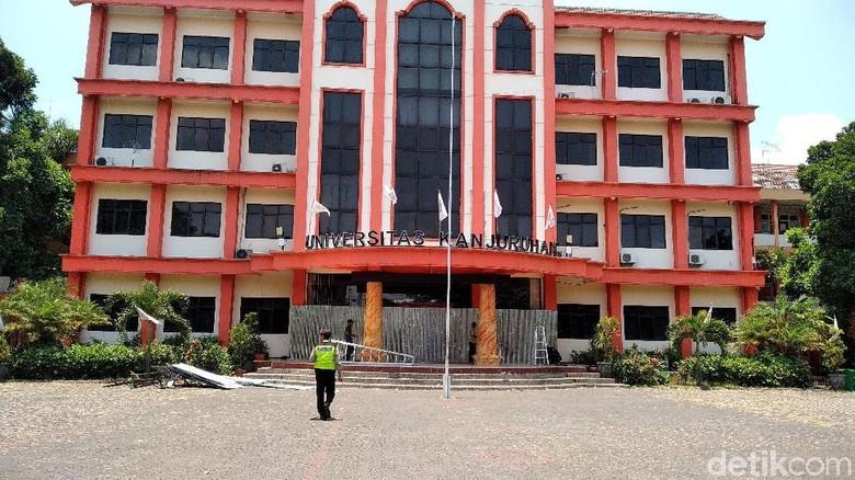 Perkuliahan di Universitas Kanjuruhan Disetop Sementara Pascaricuh