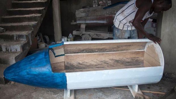 Meninggal Penuh Gaya di Ghana