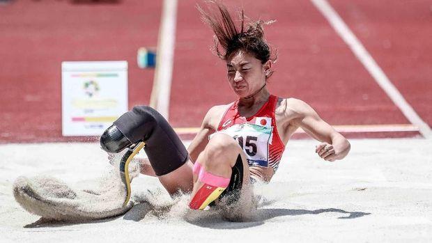 Nakanishi Maya, atlet atletik Jepang di Asian Para Games 2018