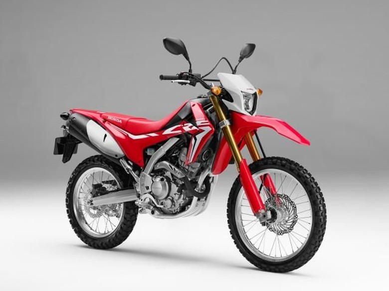 Honda CRF250L Foto: Pool (Visordown)