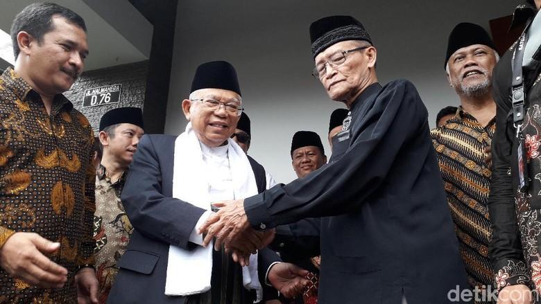 Ini Pesan Buya Syafii untuk Maruf Amin Jika Menjadi Wapres