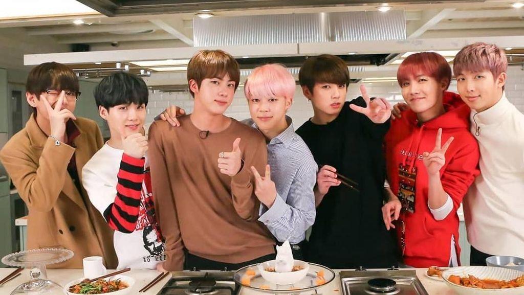 Daebak! MV BTS DNA Tembus 550 Juta Penonton di YouTube