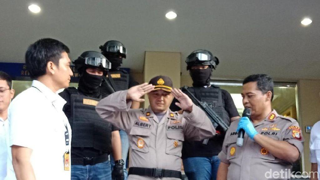 Ngaku Sespri Kapolri dan Bisa Bebaskan Tahanan, Albert Ditangkap