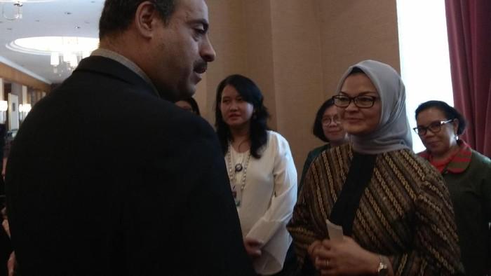 Kepala BPOM, Penny K Lukito dalam pertemuan Kerja Sama Selatan-Selatan (KSS).  Foto: Aisyah Kamaliah/detikHealth