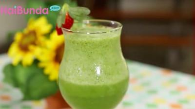 Resep Green Juice dari Bayam, Menu Tepat untuk Diet Bunda