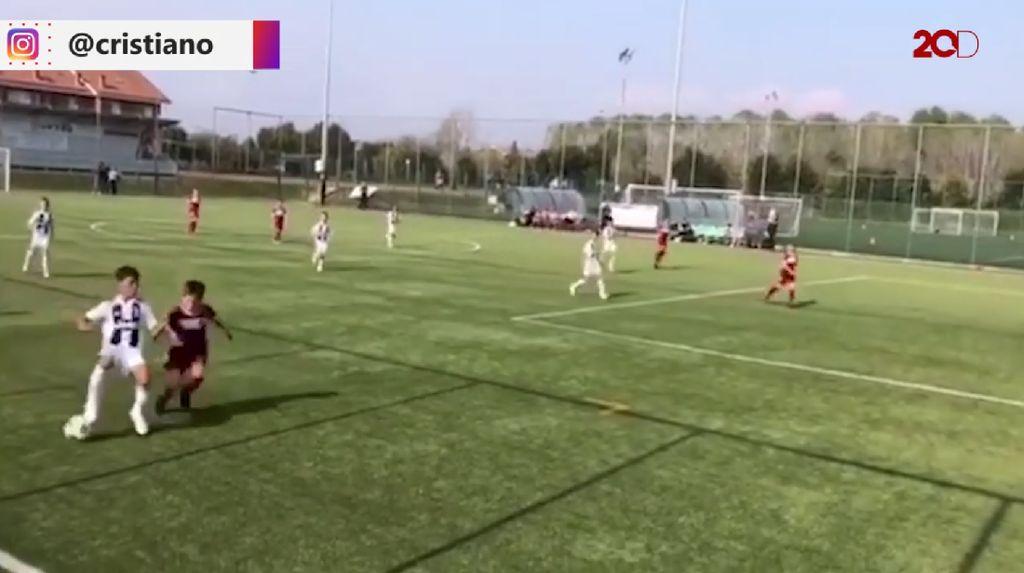 Skill Jempolan Anak Ronaldo