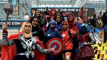 Hijab Heroes, Kumpulan Hijabers Pakai Kostum Avenger Viral di Medsos