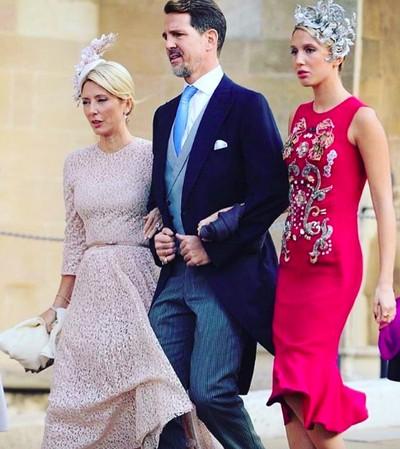 Keluarga Kerajaan Yunani Saat Hadiri Pernikahan Putri Eugenie. Foto: instagram @olympiagreece
