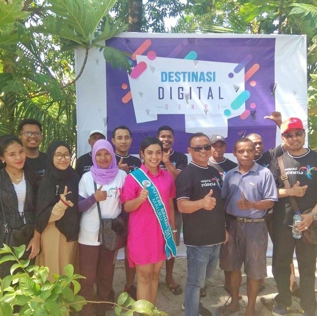 Begini Cara GenPI Maluku Gaet Wisatawan ke Pasar Salamoeli