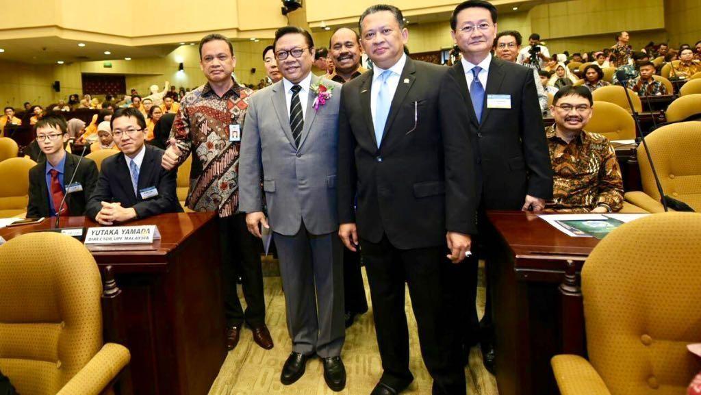 Di Forum Internasional, Bamsoet Banggakan Keragaman Indonesia