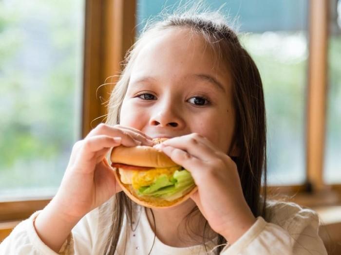 ilustrasi fast food