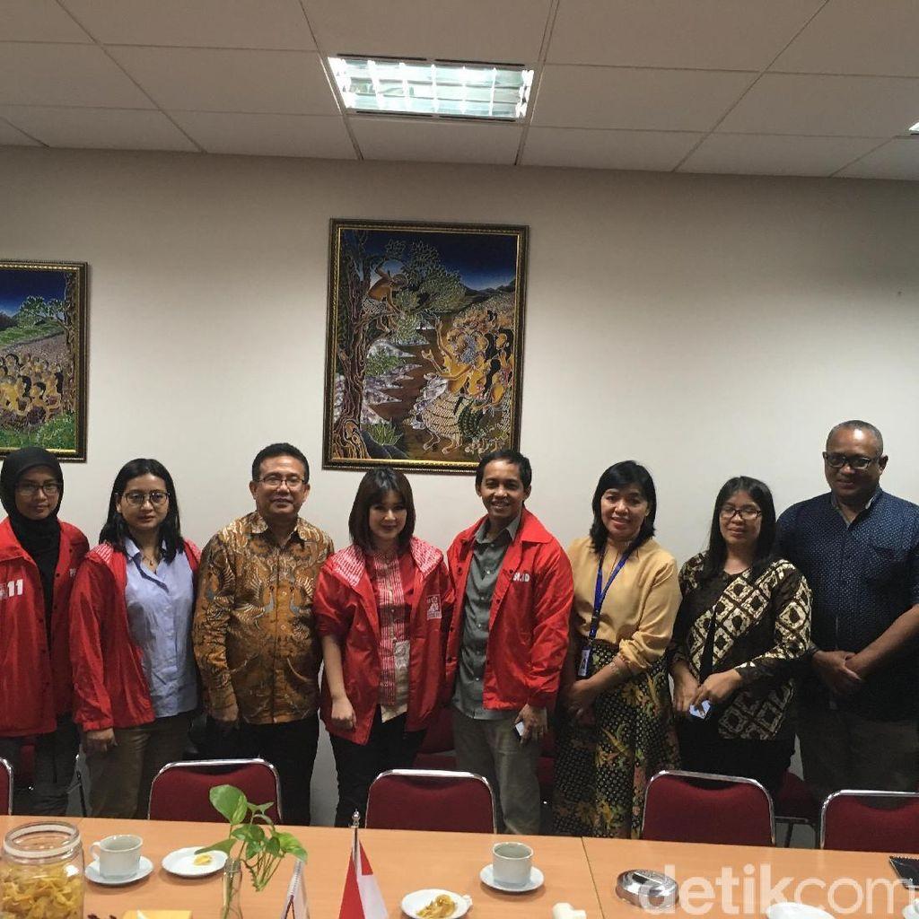 Dikunjungi PSI, PGI Tetap Netral di Pemilu 2019