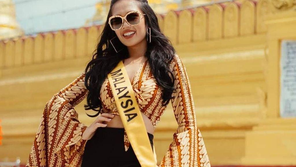 Kontroversi Finalis Miss Grand International dari Malaysia Pakai Batik