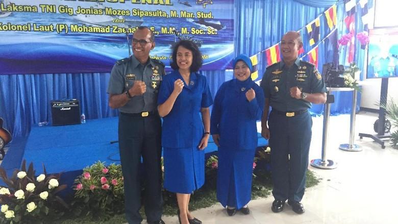 TNI AL Gelar Pisah Sambut Kadispenal di Mabes Cilangkap
