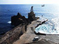 Pelabuhan di Pulau Aogashima (iStock)