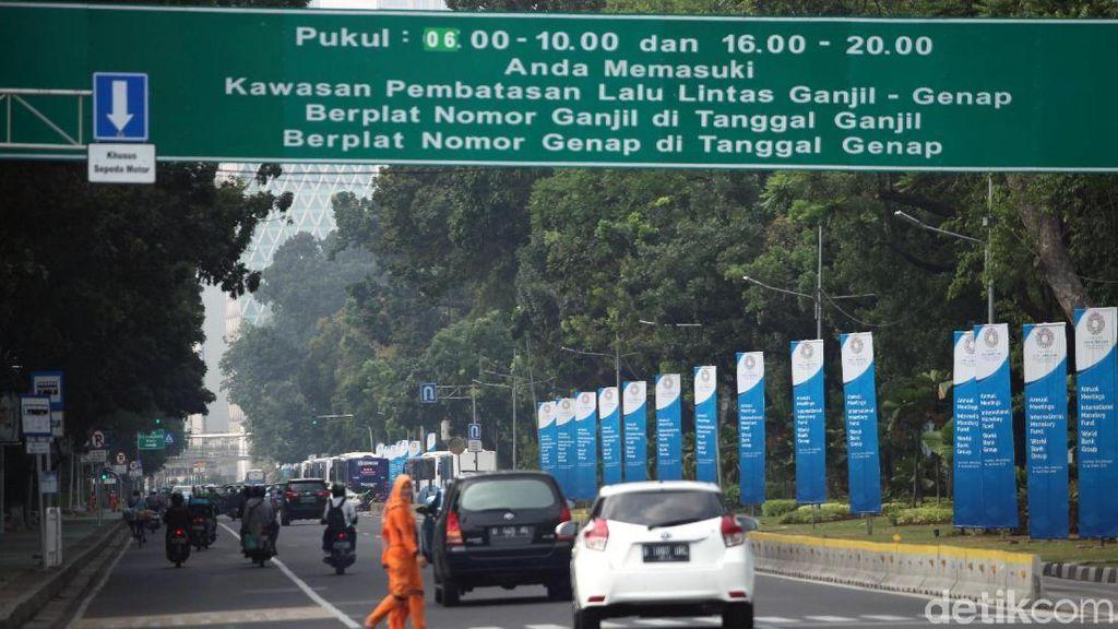 Prit! 37.000 Pelanggar Ganjil Genap Sudah Ditilang Polisi