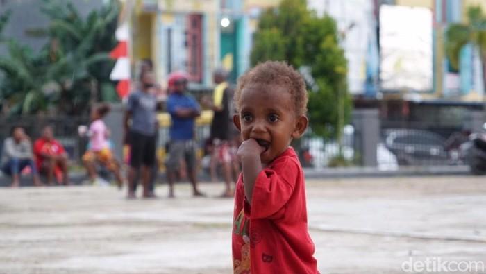 Cakupan Imunisasi MR di Papua Barat sudah melebihi target. (Foto: Khadijah Nur Azizah/detikHealth)