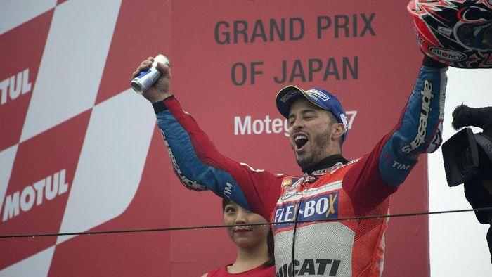 Andrea Dovizioso memenangi MotoGP Jepang 2017. Siapa pemenang tahun ini? (Foto: Mirco Lazzari gp/Getty Images)