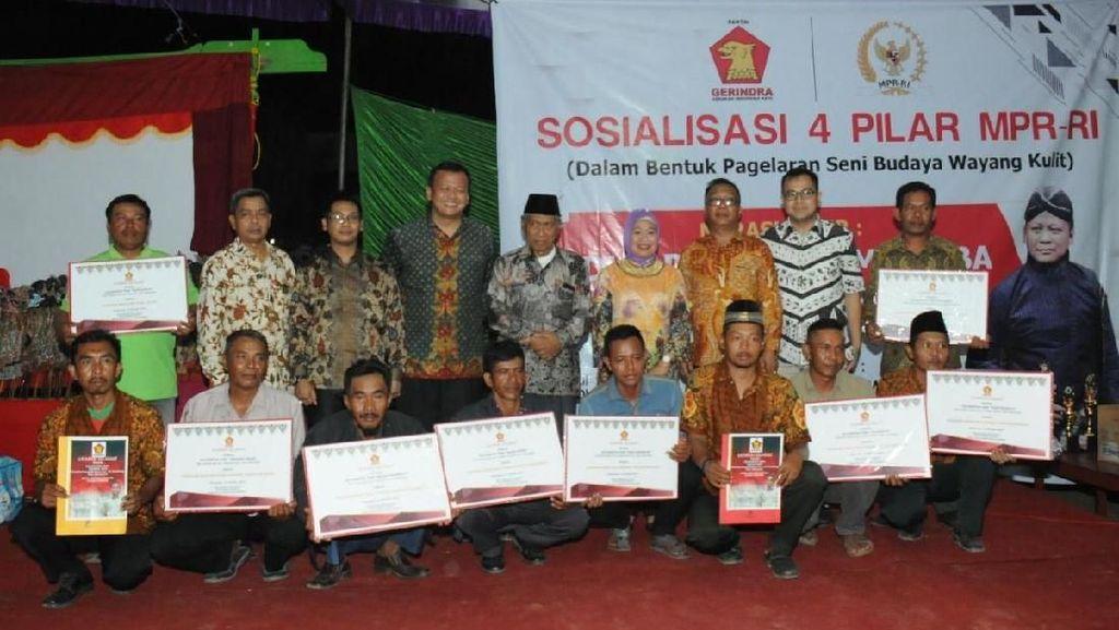Sosialisasi Empat Pilar, MPR AJak Warga Nonton Wayang Kulit