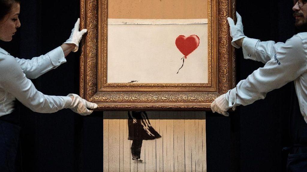 5 Karya Termahal Banksy, Nilainya sampai Miliaran