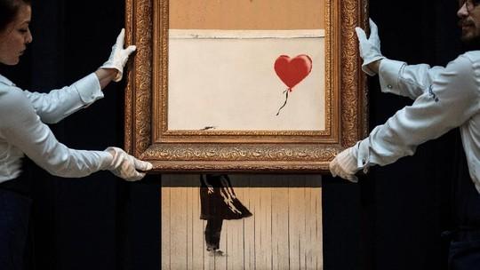 Ini Penampakan Lukisan Banksy Senilai Rp 20 M