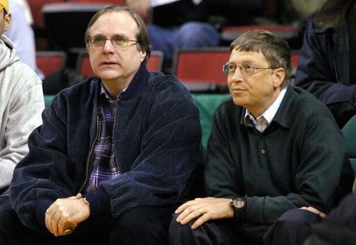 Paul Allen dan Bill Gates. Foto: Istimewa
