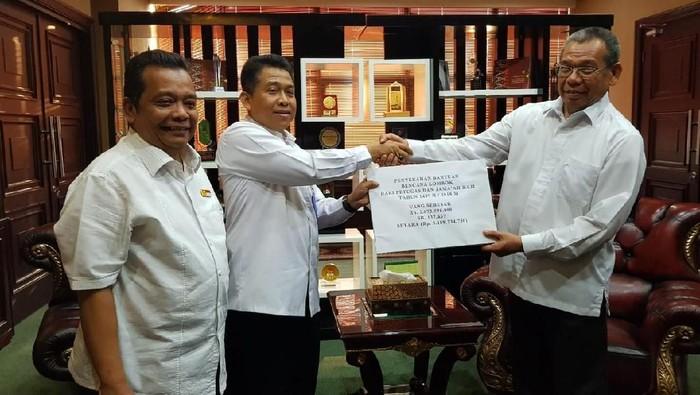 Foto: Direktur Bina Haji Kemenag Khoirizi M Dasir dan Sekjen Kemenag Nur Kholis/Dok Kemenag