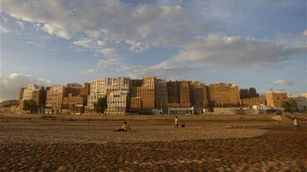 Foto: Gedung Pencakar Langit Kuno di Yaman