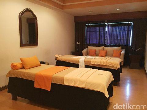 Ruangan spa di Hotel Gran Melia, Jakarta.