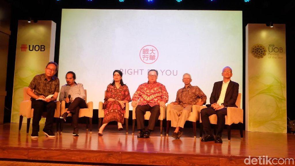 700 Seniman Kirim Karya ke Kompetisi Seni Lukis UOB 2018