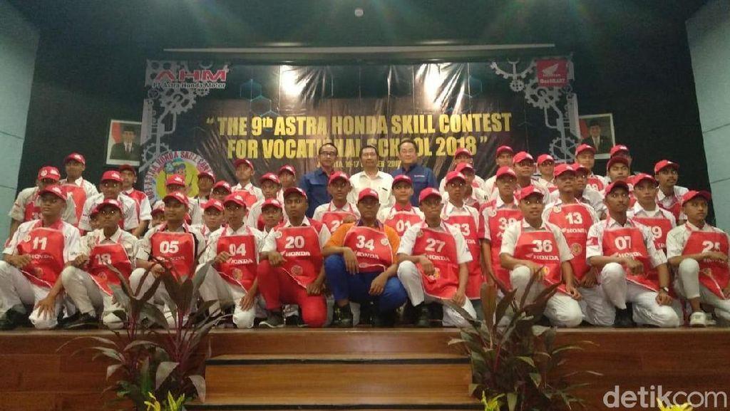 Gelar Kontes Keterampilan, Honda Saring Siswa SMK Berbakat