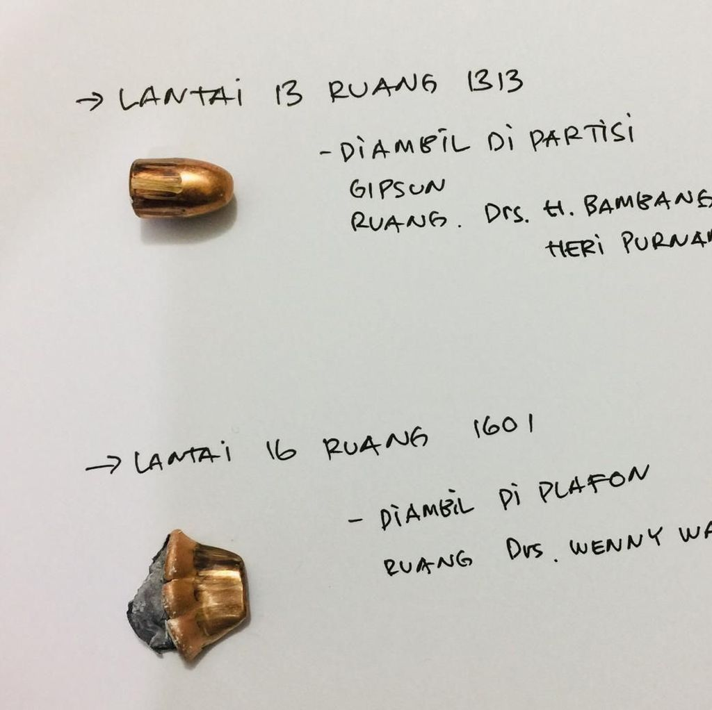Polisi: Proyektil Peluru di DPR Identik dengan Senpi Glock 17