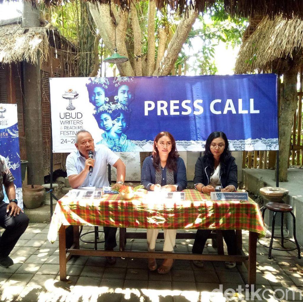 180 Pembicara Dihadirkan di Ubud Writers and Readers Festival 2018
