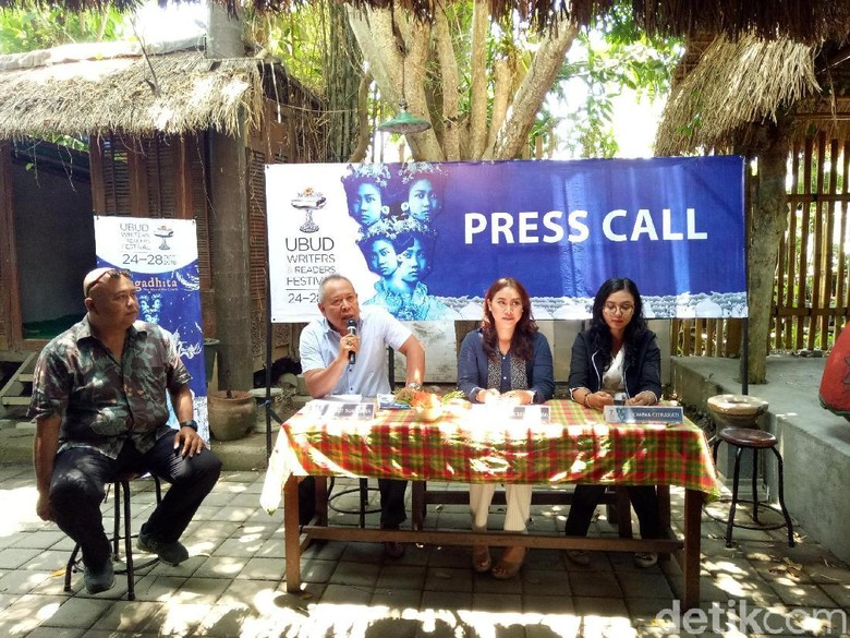 Foto: Ubud Writers and Readers Festival 2018 (Aditya Mardiastuti)