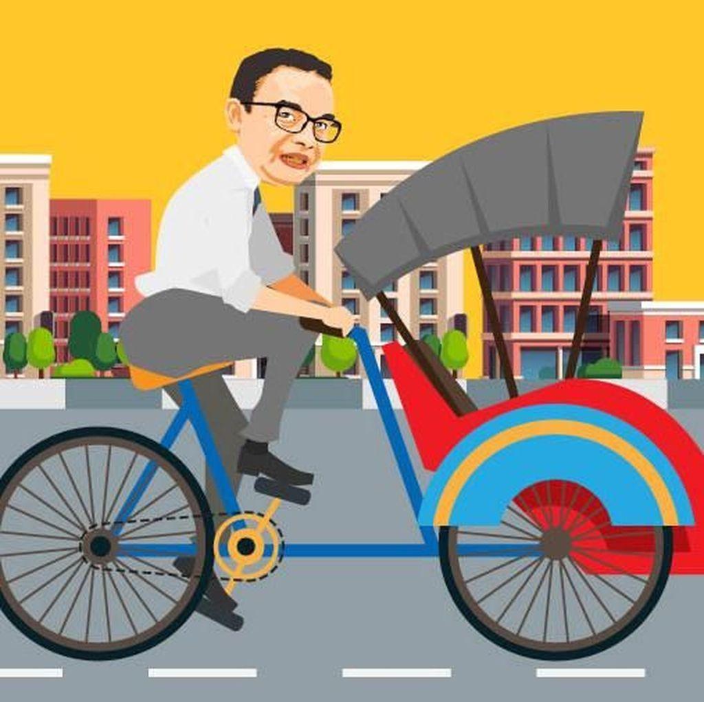 7 Kebijakan Kontroversial Gubernur DKI Anies Baswedan