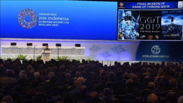 Acara IMF-World Bank Meeting/Foto: detik.com