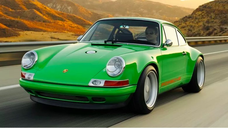Ilustrasi Porsche milik Paul Allen Foto: Pool (Japlopnik)