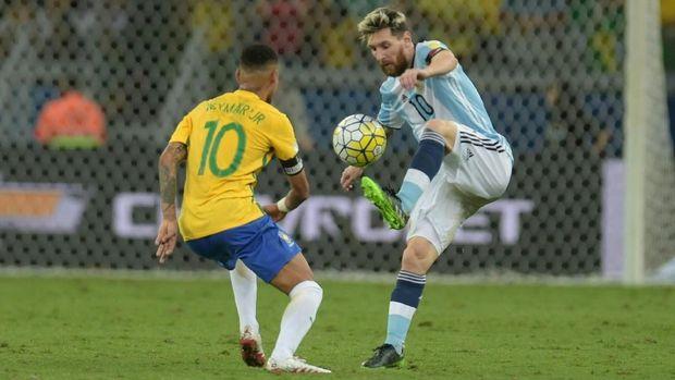 Romero: Tanpa Messi Argentina Harus Tetap Kalahkan Brasil