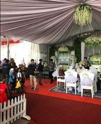 SPBU Dijadikan tempat pernikahan