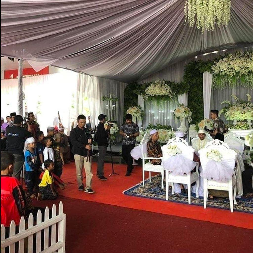 Keluarga Mempelai Minta Maaf Soal Pernikahan di SPBU yang Viral