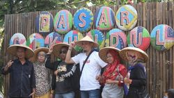 Pasar Cikundul Sukabumi Sajikan Lomba Lukis Hingga Live Musik