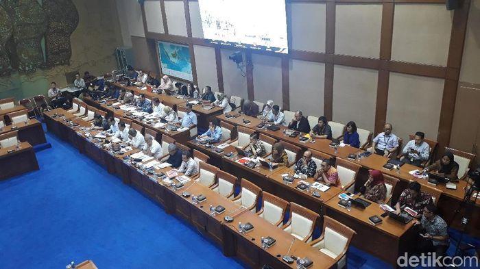 Foto: Rapat komisi VII/Danang Sugianto-detikFinance