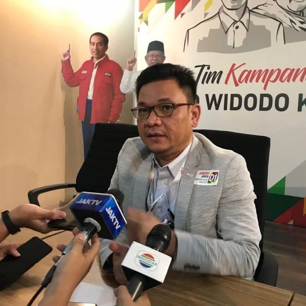 TKN Nilai Iklan Kerja, Kerja, Kerja Gerindra Tiru Slogan Jokowi
