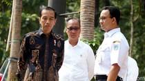 Didampingi Anies, Jokowi Tinjau Fasilitas Disabiltas di GBK