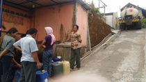 Terdampak Kebakaran Gunung Merbabu, BPBD Droping Air Bersih