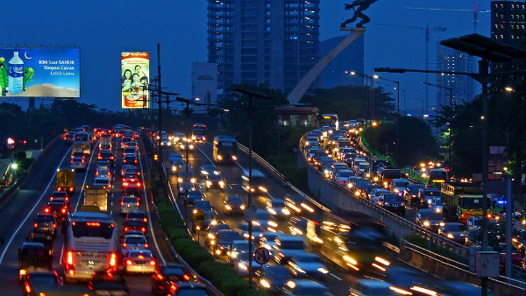 Catat! Ini Waktu Paling Macet di Jakarta