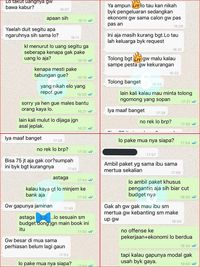 Screenshot percakapan